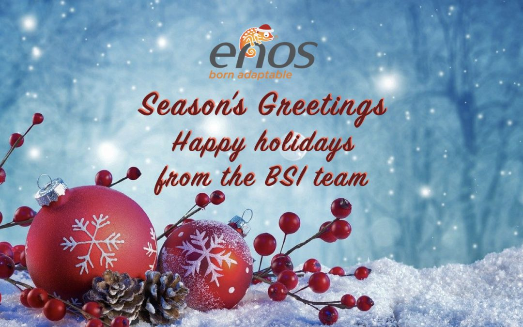 Greeting's season – Happy Holidays